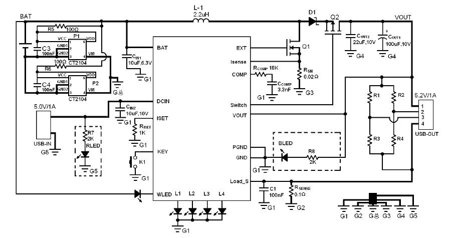 ct6302b电路图