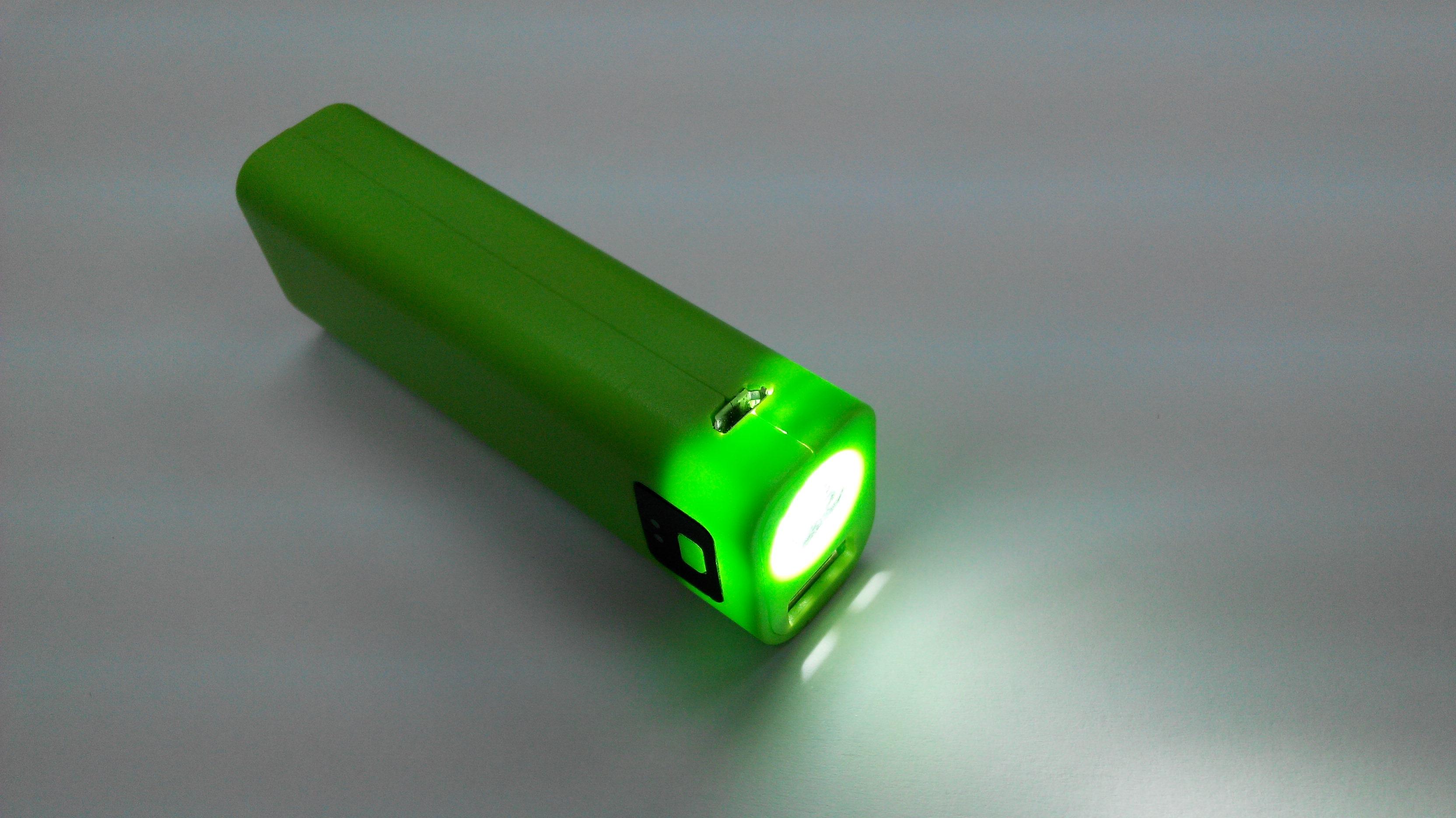强光手电筒移动电源方案HS-046